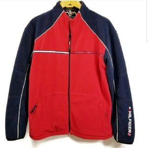 Vintage Tommy Hilfiger Cold Stop Full Zip Fleece
